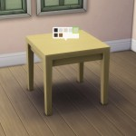 Small Tabula Rasa Dining Table