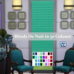 Blinds De Nuit in 30 Colours!