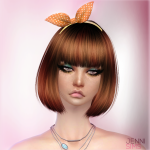 Jennisims: Downloads sims 4:Sets of Accessory (Sunglasses,Bow Headband)
