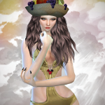 Jennisims: Downloads sims 4:Sets of Accessory (Hat Fruit,Crown,Ribbon)