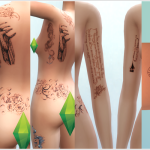 Lady GaGa Tattoos 1.3 | David Sims