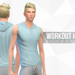 Simsational Designs: Workout Hoodie