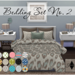 Sim-ply Splendid Simblr  Bedding Set No. 2 (with extras!)