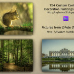 TS4 Custom Content – Paintings by Keyla