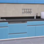 Veranka's TS4 Downloads | BlandCo Contemporary Dishwasher I did a…