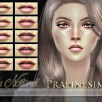 Pralinesims' Au Naturel Lipstick Duo