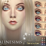 Pralinesims' Galaxy Star Eyeshadow