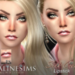 Pralinesims' Silk Cream Lipstick Duo