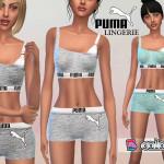 Puresim's Puma Lingerie Set