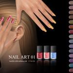 S-Club LL ts4 Nail Art N01