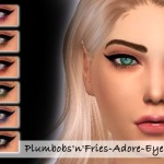 Plumbobs n Fries' Adore-Eyeliner