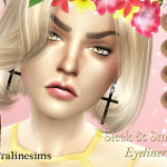 Pralinesims' Sleek & Smoky Eyeliner