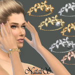 NataliS_Orchid flowers bracelet right