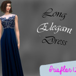 irisflor123's Party Elegant Long Dress – Luxury Party SP needed