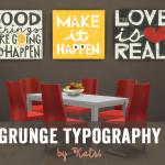 katsi's Grunge Typography