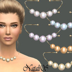 NataliS_Faux pearl necklace