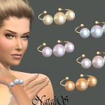 NataliS_Faux pearls bracelet