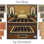 Christina51's Geo Rug Set