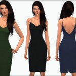 OranosTR's Cami Strap Slinky Dress