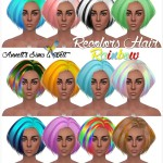 Recolors Hair – Rainbow