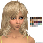 Kijiko Ocelot Hair Retexture | Simista A little Sims 4 Site