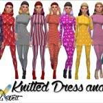 Knitted Dresses & Tights