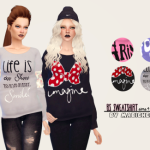 mabiche-sims | BS SWEATSHIRT By mabichesims.   Aw guys I made my…