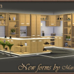"Kitchen ""New Forms"" In fact, it's two full sets of … – world SIMS4 by Maruska-Geo"