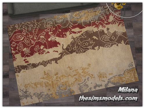 The Sims Models Rugs For Ts4 By Milana Download Here