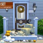 ajoya's ♦ simblr • Autumn Decoration Set – (Indoor|Outdoor) (5 Cemre…