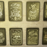 52 Chalkboard prints by Woohooty ~