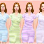 Simlife ♥ Polo Dress, hope you like it ( new mesh). (`◇´)