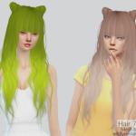 ❀ฺTS4 Hair #79 & Buns