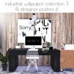 hvikis – ▪ Designer posters 6  50 swatches, black frame ▪…