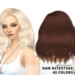 MISSPARAPLY | [S4] Hair retexture / Sintiklia hairs Credits to…