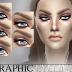 Pralinesims' Graphic Eyeliner