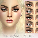 Pralinesims' Expressive Eyeliner