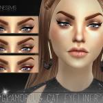 Pralinesims' Glamorous Cat Eyeliner | N15