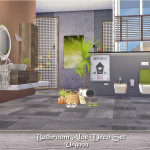 ung999's Bathroom Aloe Deco Set