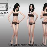 MariaMariaSims' MariaMaria CAS Pose Set №3