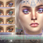 Pralinesims' Crystal Dust Eyeshadow | N14