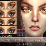 Pralinesims' Starry Night Eyeshadow | N13