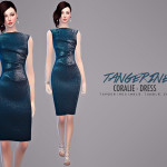 tangerinesimblr's Coralie – Dress