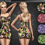 Cre8Sims' Floral Romper