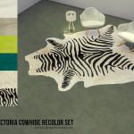 k-omu's Victoria Cowhide Recolor Set