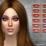 SintikliaSims' Sintiklia – Lipstick 30