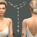 NataliS_Back drop crystals necklace