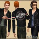 bukovka's Jacket Harley Davidson