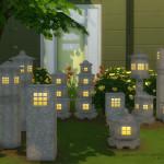 DOT's Garden Stone Lantern Set