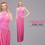 tangerinesimblr's Athena – Dress